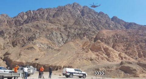 العثور على جثة شاب في جبال ايلات