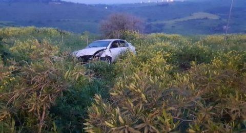 طبرية: مصرع شاب وعدة اصابات بحادث طرق مروع