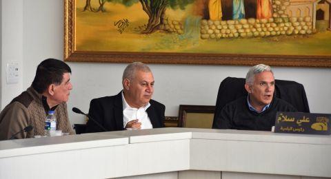 مدير عام وزارة الداخلية يزور بلدية الناصرة