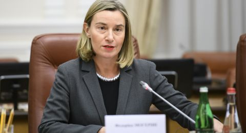 موغريني تكشف شرط مشاركة أوروبا في إعادة إعمار سوريا