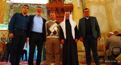 قادة الحركة الإسلامية وجمعية الأقصى: نشد على أيدي المرجعيات الدينية والأوقاف في القدس