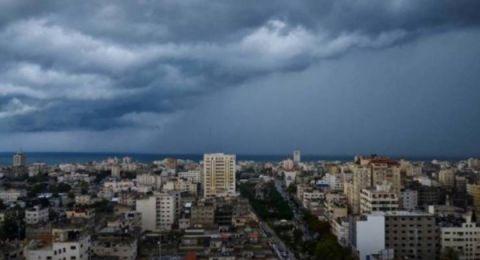 حالة الطقس : منخفض جوي …أمطار وعواصف رعدية وطقس