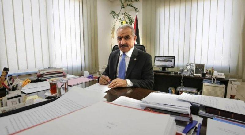 اشتية: الحكومة ستضم وزراء من القدس وغزة