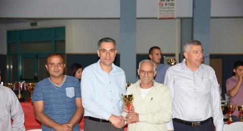 اكسال: المجلس المحلي و مدرسة الرازي يكرمون لاعبي كرة القدم منذ تاسيس الفرق الكسلاوية