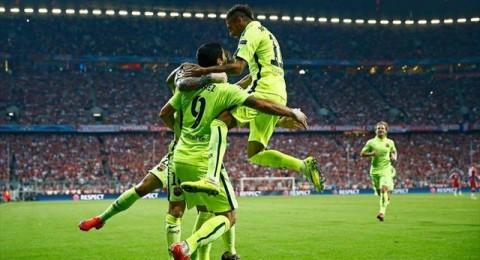 برشلونة يتخطى بايرن ميونخ ويتأهل لنهائي برلين للمرة الأولى من 4 سنوات
