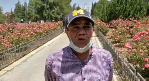 طارق شحادة يتحدث ..  القدس: وقفة احتجاجية تطالب الحكومة بالاهتمام بقطاع السياحة والرحلات التربوية ودفع التعويضات