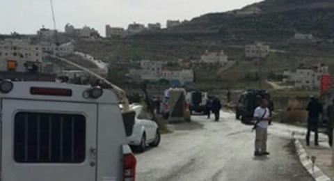 إطلاق نار على شاب فلسطيني بزعم دهس جندي جنوبي الخليل