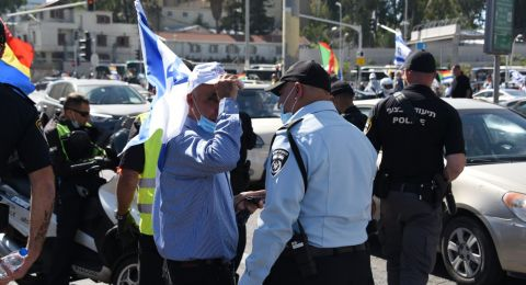 المجالس الدرزية والشركسية تتظاهر في تل ابيب