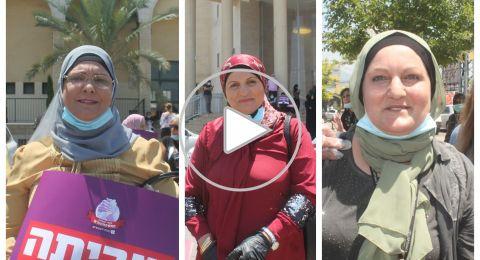 صرخة غضب.. الحاضنات يتحدثن لبكرا : سنواصل احتجاجنا حتى الحصول على كامل حقوقنا