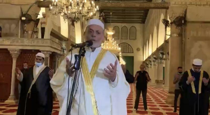 مباشر: آذان العشاء وصلاة التراويح من المسجد الأقصى