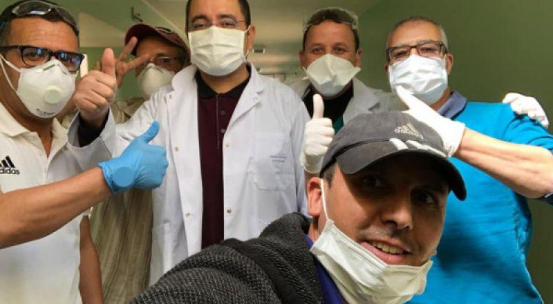 الممرضون المغاربة في قلب معركة مواجهة (كورونا)
