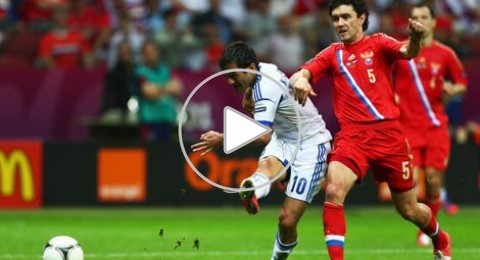 اليونان والتشيك يتأهلان معاً للربع النهائي