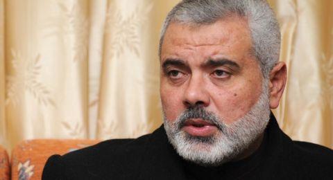 هنية: لم نكن في حالة عداء مع النظام السوري وهو وقف معنا وقدم لنا الكثير