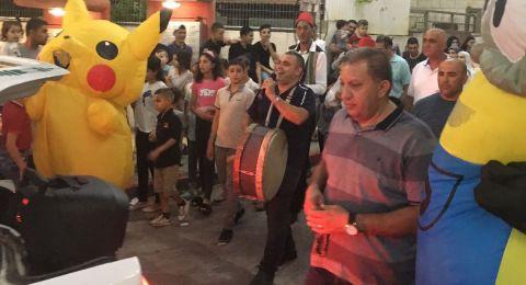 ليلة كرنفالية في سولم: حفل مميز بعد مسيرة رمضان التي نظمها المجلس