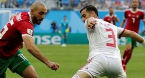 المغرب يخسر لايران بهدف ذاتي في الوقت القاتل