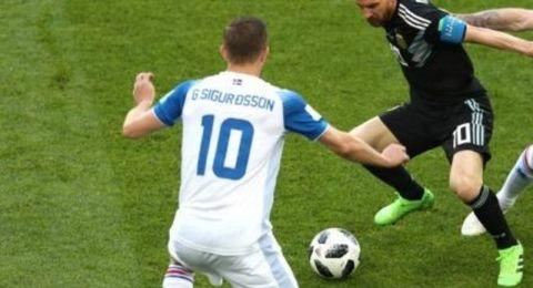 مونديال 2018 : آيسلندا توقف الارجنتين وتجربها على التعادل