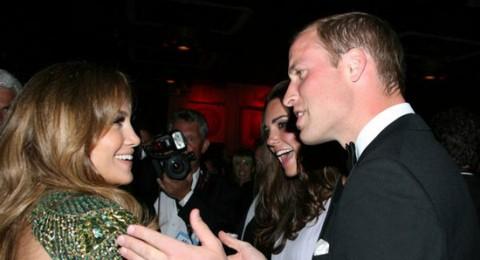 الأمير وليام وكيت مدلتون يلتقيان بنجوم هوليود فى لوس أنجلوس