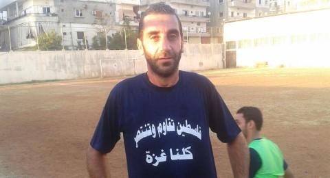 تعادل الاهلي صيدا ومنتخب من اللاعبين الفلسطينيين بصيدا وعين الحلوة تضامنا مع غزة