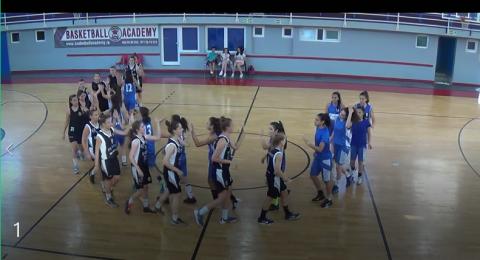 معسكر تدريبي ناجح لفرق كرة السلة للفتيات في المجتمع العربي