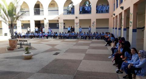 رئيس مجلس طلعة عارة : التلويح بالأضراب في ثانوية سالم لا داع له ويضر بمصلحة طلابنا