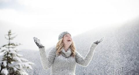 في موسم الشتاء: امرأة حامل، بصحة جيدة!