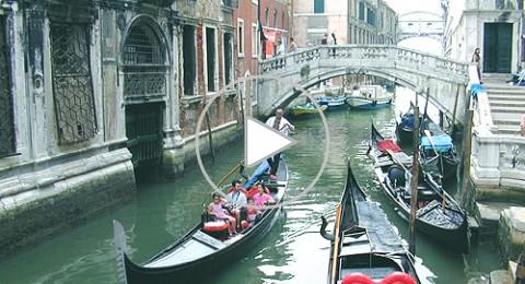 بالفيديو: فينيسيا مدينه الحب