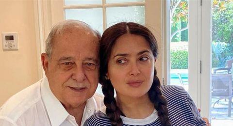 سلمى حايك تشكر والدها على جيناتها اللبنانيّة