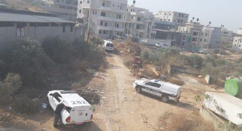4 متفجرات مُعدّة بين بيوت المنطقة الجنوبية (منطقة الشِعب) في كفرقاسم