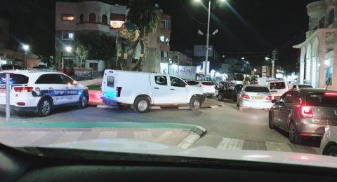 طمرة: اصابة شاب بعيار ناري ومواجهات مع الشرطة
