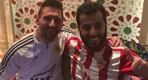 ميسي في الرياض وآل الشيخ يستضيفه في منزله