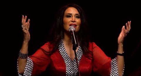 الفنانة سيدر زيتون تزور لبنان رغم الثورة لتصوير أغنيتها