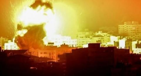 رغم التهدئة- اسرائيل تقصف غزة