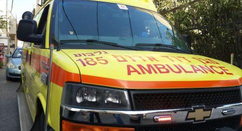 حيفا: اصابة بالغة لعامل بعد تعرضه للحرق
