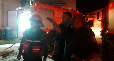 البقيعة: اندلاع حريق في منزل دون وقوع اصابات
