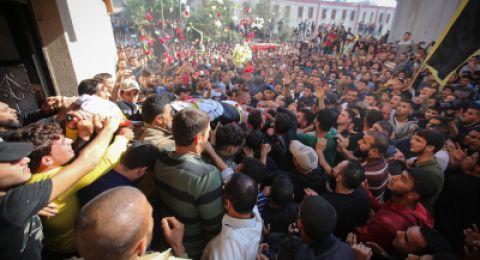 غزة: ارتفاع عدد الشهداء الى 22 شهيدًا ومن بينهم امرأة