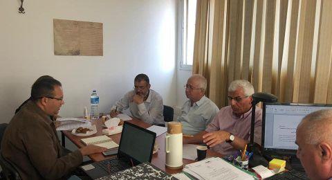 النائب وليد طه والنائبة هبة يزبك يشاركان بجلسة مشتركة مع لجنة متابعة التعليم العربي