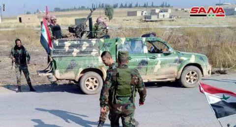 الجيش السوري يبدأ عملية عسكرية بريف إدلب ويسيطر على بلدة جديدة
