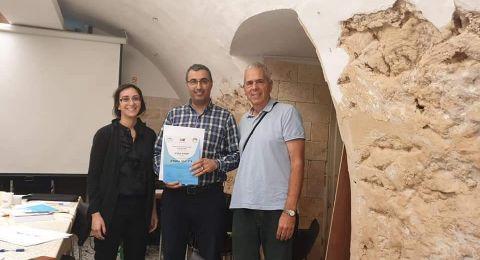 اختيار د. يوسف عواودة للمشاركة في ورشة حول التخطيط المدني ضمن مجموعة ضمت 8 رؤساء