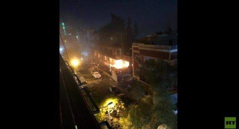 شهيدان بقصف إسرائيلي لمنزل قيادي بارز بالجهاد الإسلامي بدمشق