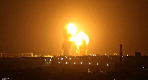 من خرق الهدنة؟؟غارات إسرائيلية على غزة بعد إطلاق صواريخ من القطاع