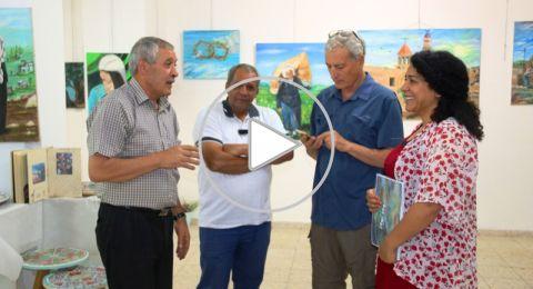 سخنين: بصمة فنية تراثية في معرض