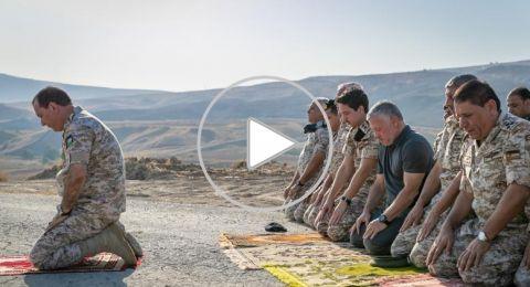 ملك الأردن يزور الباقورة عقب استعادتها من إسرائيل