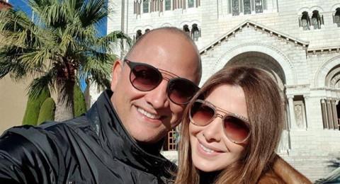 نانسي عجرم وزوجها بأجواء رومانسية في موناكو