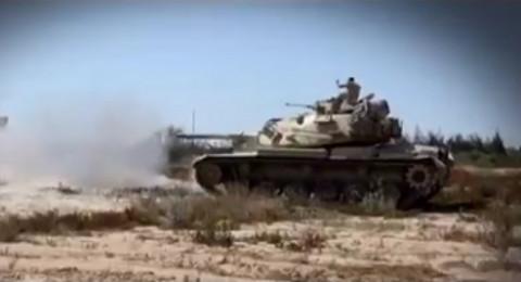 الجيش المصري يقضي على ثلاثة إرهابيين في سيناء