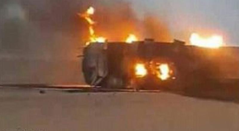 احتراق شاحنة في دبورية والتحقيق ما إذا كان مفتعلا