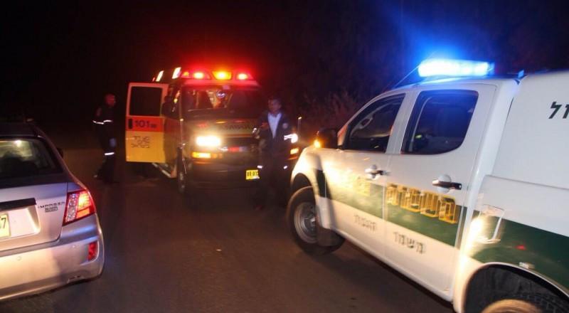 5 إصابات بينها خطيرة إثر انقلاب سيارة في النقب