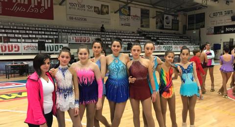 فريق الناصرة للتزلج يشارك في مسابقات دولية