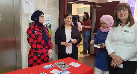 بنك هبوعليم يشارك في احتفالات يوم المرأة العالمي في طمره