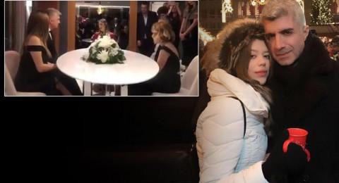شاهد.. الممثل التركي أوزجان دينيز يتزوَّج بسرِّية من حبيبته