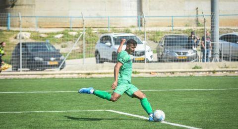 اللاعب خالد هيب من عرب الهيب ابو صياح موهبة كروية واعدة